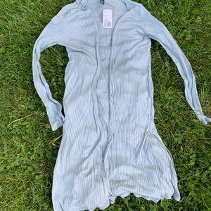 NWT Forever 21 Light Blue Kimono Shrug Cardigan